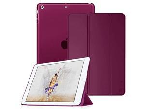 Case for iPad Mini 32 1 Lightweight Smart Slim Shell Translucent Frosted Back Cover Protector Supports Auto WakeSleep for iPad Mini 1 Mini 2 Mini 3 Purple
