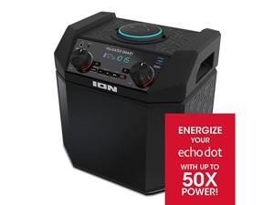 50W Outdoor Echo Dot Speaker Dock/Portable Alexa Accessory with Bluetooth Connectivity and 50 Hour Rechargeable Battery-Tailgater Smart