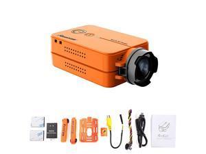 2 fpv sport camera 1080p 60fps orange