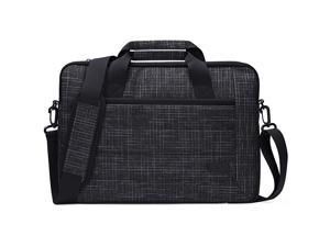 13135 Inch Laptop Sleeve Tote Bag with Shoulder Strap and Handle for Laptop Ultrabook MacBook Pro Air Surface Chromebook Notebook Acer Asus Dell HP Lenovo Galaxy Sony Toshiba Black Plaid