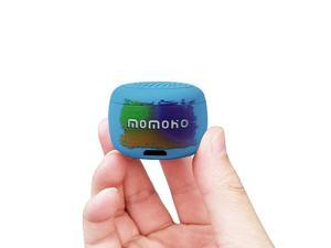 Small Bluetooth Speaker Mini Size but Great Sound QualityPhoto Selfie Button amp Answer Phone CallsBTS0011 Blue