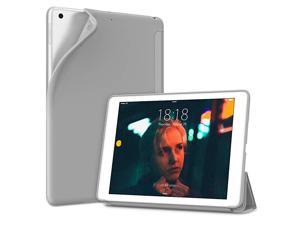 iPad 102 Case2020 iPad 8th Generation Case 2019 iPad 7th Generation Case Ultra Lightweight Slim Protective Soft Back Cover Smart Trifold Stand Auto SleepWake Grey