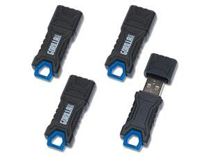 32GB Ruggedized USB Flash Drive 4Pack