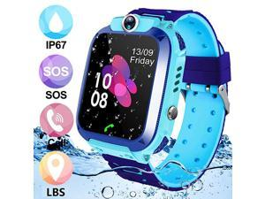 Kids SmartwatchIP67 Waterproof Smart Watch for Kids GPS Kids Phone Watch With SOS TwoWay Call Christmas Birthday Gift