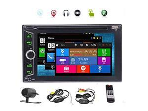 Backup Camers Included 2 Din Car DVD Player Autoradio Stereo with Wince System Automotive 3D GPS Auto Radio PC Electronics Double Din MP3 Music Capacitive Touchscreen in Center Console N