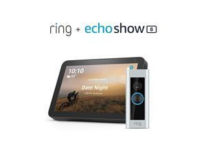 Video Doorbell Pro with Echo Show 8 (Charcoal)