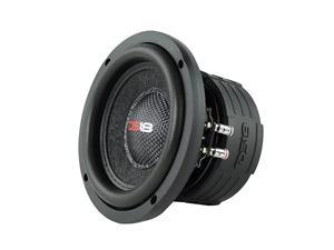 Elite Z6 Subwoofer in Black 65 600W Max Power 300W RMS Dual 4 Ohms DVC Premium Car Audio Bass Speaker Great for Low Frequencies and High Power Applications 1 Speaker
