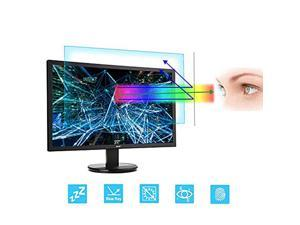 24 Inch Monitor Screen Protector Blue Light Filter  Eye Protection Blue Light Blocking Anti Glare Screen Protector Compatible 24 Inch 16 9 Desktop Monitor