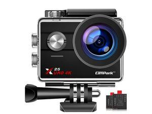 Lowest Price  X25 Native 4K WiFi Sports Action Camera Ultra HD Waterproof DV Camcorder 16MP 170 Degree Wide Angle