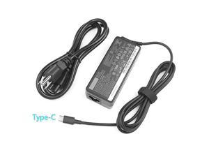 AC Charger for Lenovo ThinkPad T480 T480S 4X20M26268 ADLX65YLC2A ADLX65YAC2A ADLX65YCC2A ADLX65YDC2A Model Laptop Power Supply Adapter Cord 65W USB C
