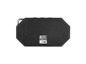 Mini H2O Wireless Bluetooth Waterproof Speaker Floating IP67 Portable Speaker Strong Bass Rich Stereo System Microphone 30 ft Range Lightweight 6Hour Battery Black
