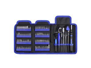 Precision Screwdriver Kit 126 in 1 Screwdriver Set Magnetic Driver Kit for Mobile Phone Smartphone Game Console Tablet PC