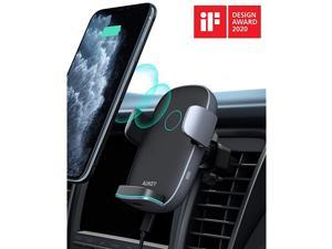 Wireless Car Charger 10W Qi Fast Charging AutoClamping Car Phone Mount Air Vent Phone Holder Compatible with iPhone1111Pro11ProMaxXSMaxXSX88+ Samsung S10S10+S9S9+S8S8+Note and More