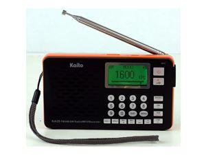 KA29 All in one World Receiver with Recorder AM FM SW Radio and MP3 PlayerBlack