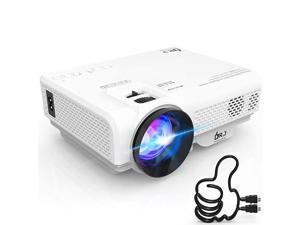 4500L Mini Projector Full HD 1080P Supported Portable Video Projector Compatible With TV Stick HDMI VGA USB TF AV Sound Bar Video Games 2020 Latest Upgrade