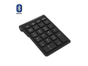 Bluetooth Number Pad  Wireless Bluetooth 22 Keys MultiFunction Numeric Keypad Keyboard Extensions for LaptopDesktopPCsNotebook