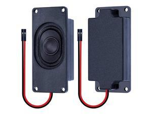 Speaker 5 Watt 8 Ohm Compatible with Arduino Motherboard 254mm Dupont Interface It is Ideal for a Variety of Small Electronic Projects