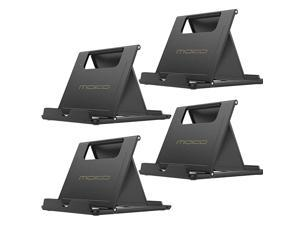 4 Pack PhoneTablet Stand Foldable Desktop Holder for 411 Devices Fit 11 Pro Max iPhone SE iPad Pro 11102 8th Gen Air 3Air 4 109Mini 5 Galaxy S20 Black