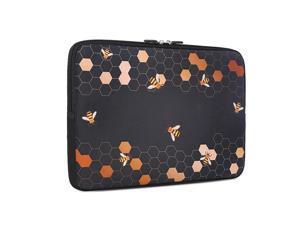 13133 inch Laptop Sleeve Bag Waterproof Shock Resistant Neoprene Notebook Protective Bag Carrying Case Compatible MacBook ProMacBook Air Honeycomb