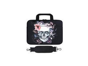 Shoulder Bag Compatible with MacBook Air MacBook Pro Ultrabook Chromebook 12133 Skull