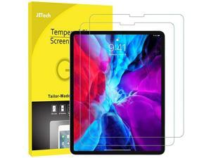 2-Pack Screen Protector for iPad Pro 12.9-Inch 2021/2020/2018 Model, Edge to Edge Liquid Retina Display, Face ID Compatible, Tempered Glass Film