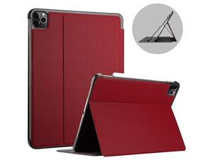 iPad Pro 129 Case 2020 amp 2018 Support Apple Pencil 2 Pairing amp Charging Slim Protective Folio Cover for iPad Pro 129 4th Generation 2020 iPad Pro 129quot 3rd Generation 2018 Red