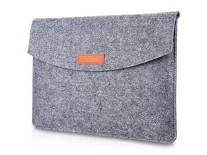 12129 Inch Sleeve Case Bag Compatible for MacBook 12 Surface Pro 7654 3 2017 Surface Book 3 135 iPad Pro 129 Portable Carrying Protective Cover for 11 12 Chromebook Gray