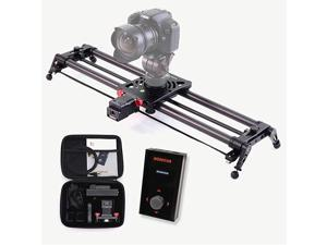 Motorized Slider P1 Series Carbon Slider Dolly with S2 for Parallax Panorama Shot Live Motion and Timelapse Supports Camera, Gopro, Mobile Phone, DSLR, Mirrorless with Bag (60cm (23.6 inch))