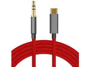 USB C to 35mm Aux Cable Cord for Google Pixel 44XL33 XL22XL Galaxy Note 1010+S2020+20 Ultra OnePlus 6T77Pro7TiPadMacBook Pro MotoXiaomiEssential PH1Huawei