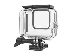 Protective Housing Case for Gopro Hero 8 Black Action Camera, Ultra-Thin Soft Dust-Proof Anti-Fall Skin Cover with Lanyard and Lens Film Accessories.