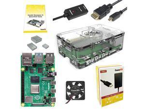 Raspberry Pi 4 8GB Basic Starter Kit with Fan 8GB RAM