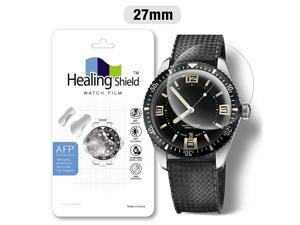 Smartwatch Screen Protector Film 27mm for  AFP Flat Wrist Watch Analog Watch Glass Screen Protection Film 27mm 3PACK