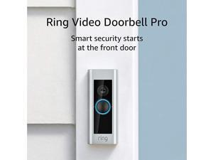 Video Doorbell Pro – Upgraded, with added security features and a sleek design (existing doorbell wi required)