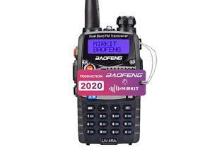 Baofeng Ham Radio UV5RA 2020 5W 1800 mAh Liion Battery  Edition and Lanyard  Ham Radio Operator Walkie Talkies Dual Band Two Way Radios