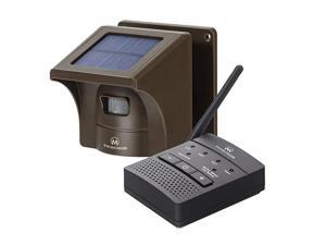 Mile Solar Driveway Alarm Sytem Wireless Long Range Outdoor Weather Resistant Motion Sensor amp Detector Driveway Alarms Wireless Outside Monitor amp Protect