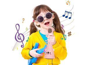 Wireless Microphone for KidsBluetooth Kids Karaoke Machine with Speaker Wireless Echo Voice Recording