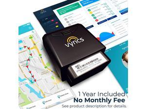 GPS Tracker for Vehicles  No Monthly Fee Real Time Tracker 1 Yr Data Plan USA+Global SIM Car Truck Tracker OBD Trips Driver Alert Engine Data Teens Seniors Family Fleet Alexa Actvn Fee Reqd