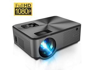 Projector  Video Projector with Full HD 1080P 4500 Lux Portable LCD Projector for 100 Projector Screen Home Theater Video Projector with HDMIUSBVGAAV Input for Smartphones