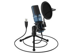 Gaming Microphone TONOR Computer Condenser PC Mic with Tripod Stand amp Pop Filter for Streaming Podcasting Vocal Recording Compatible with iMac PC Laptop Desktop Windows Computer TC777