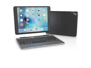 Slim Book Ultrathin Case Hinged with Detachable Bluetooth Keyboard for Apple iPad Pro 97 Black