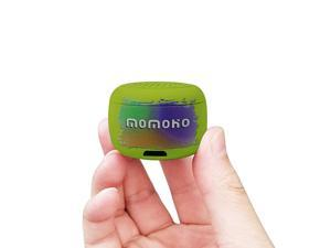 Mini Bluetooth Speaker Small Size but Great Sound QualityPhoto Selfie Button amp Answer Phone CallsBTS0011 Green