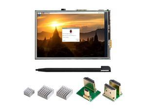 35 Inch Touch Screen for Raspberry Pi 4 HDMI TFT LCD Mini Display with Stylus Pen for Pi 4 B 3 B+