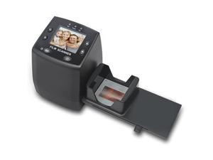 135 Film Negative Scanner High Resolution Slide ViewerConvert 35mm Film ampSlide to Digital JPEG Save into SD Card with Slide Mounts Feeder No ComputerSoftware Required