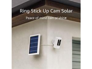 Allnew  Stick Up Cam Solar HD security camera with twoway talk Works with Alexa 2Pack