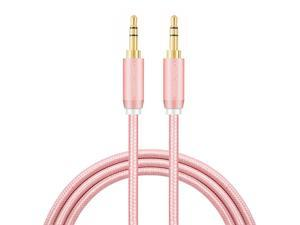 35mm Aux Cable  35mm Male to Male Stereo Auxillary Audio Cables Compatible with LilGadgets Headphones Smartphones HomeCar Stereos More 3Feet 09M