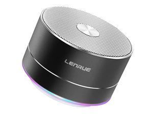 Portable Wireless Bluetooth Speaker with Built in Mic Handsfree Call AUX Line TF Card HD Sound and Bass for iPhone Ipad Android Smartphone and More