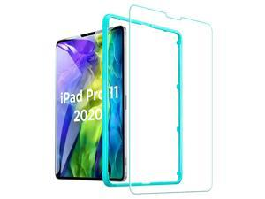 Screen Protector for iPad Pro 11 (2021/2020/2018) & iPad Air 4 2020 10.9 inch [Scratch-Resistant Tempered Glass] [Includes Installation Frame], (1 pack)
