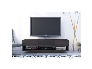 Rustik 3 Drawers TV Stand 60 Ebony