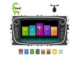 100 Double Din Car Srereo GPS Nvaigation 7 inch Bluetooth Headunit for Ford Focus 20092011 Capacitive Touch Screen in Dash Car Radio Video Player WiFi Mirror Link Autoradio Quad Core System