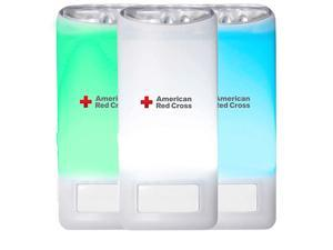 American Red Cross Blackout Buddy Connect Color WiFi Connected Smart Home  AlexaGoogle Assistant Unlimited Colors Nightlight with Motion Sensor Emergency LED Flashlight ARCBB203CDBL
